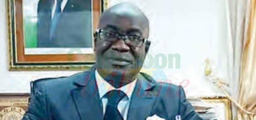 Narcisse Ahounou Manlan, ambassadeur de Côte d'Ivoire au Cameroun.