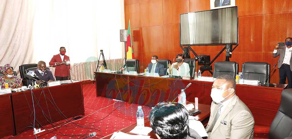 Des parlementaires camerounais veulent apporter leur pierre à l'édifice de la paix.
