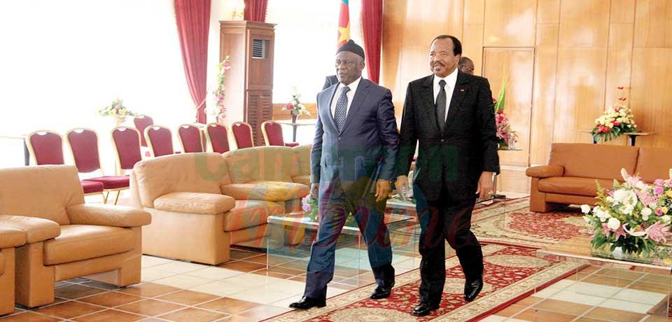 La rencontre historique Biya-Fru Ndi, une image éloquente de la « démocratie apaisée ».