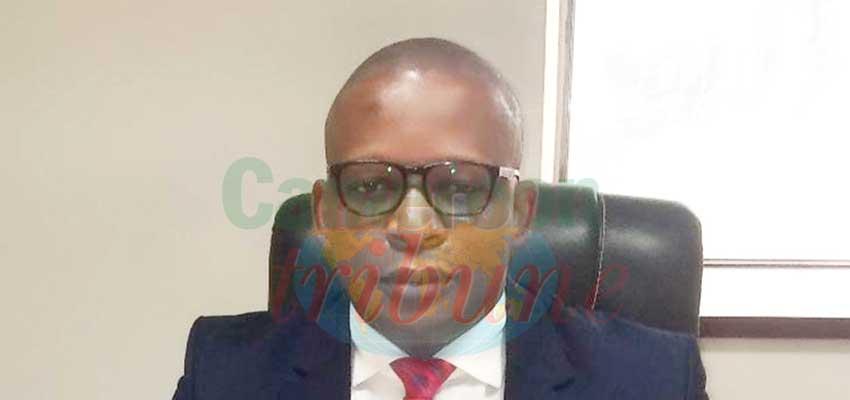 Lionel Omgba Oyono, directeur de l'Electricité au ministère de l'Eau et de l'Energie.