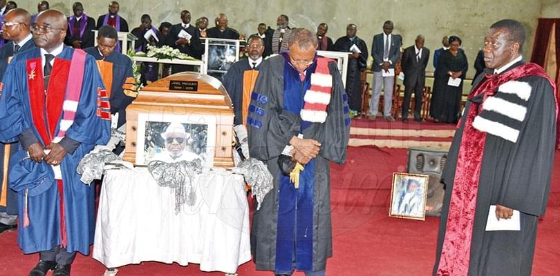 Obsèques: le Pr. Joël Moulen repose à Ngog Mapubi