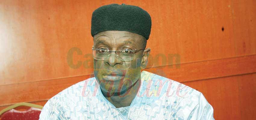 Le Dr Oumarou Tado, directeur général adjoint de l'Académie nationale olympique du Cameroun.