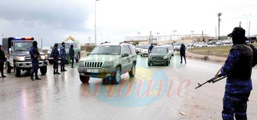 Libyan capital Tripoli has been in chaos.