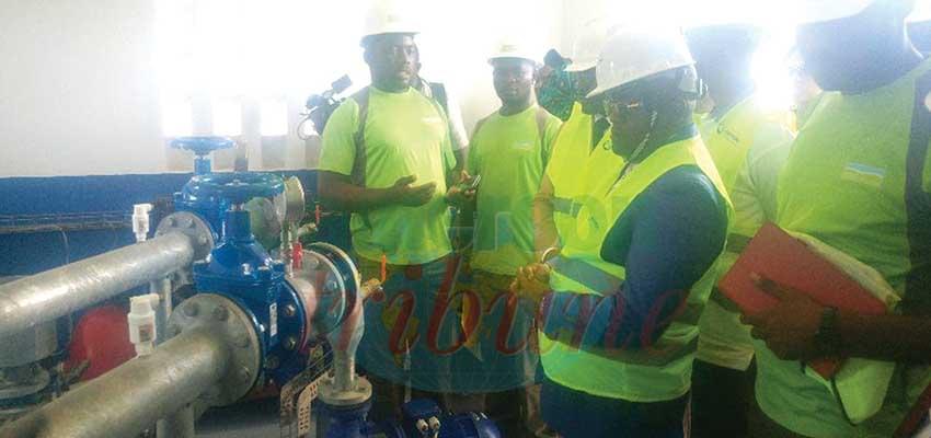 Approvisionnement en eau potable : le DG de Camwater inspecte les travaux à l'Est