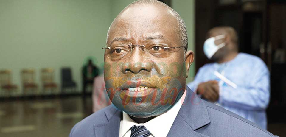 Georges Elanga Obam, Minister of Decentralisation and Local Development.