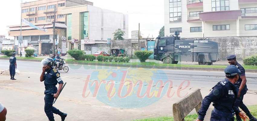 Douala : tentative dispersée