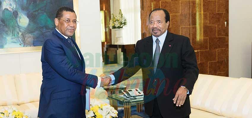 Chaleureuse bienvenue au président de la Commission de la Cemac