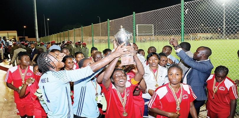 Cameroon Women Football Cup: Louves MINPROFF Winner