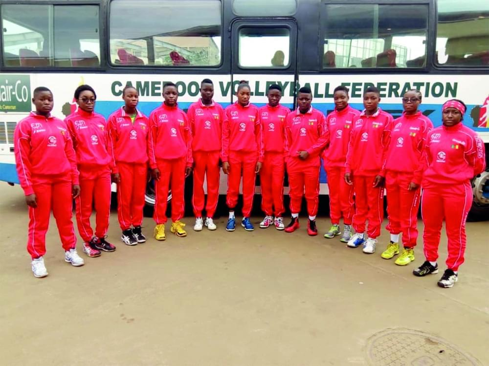 CAN de volleyball U20 dames: les Lionnes juniors entrent en scène