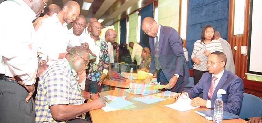 Image : Transfert de personnel Eneo-Sonatrel: 232 employés signent leur contrat