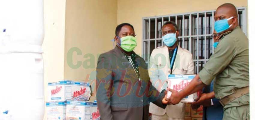 North West : UNDP Anti Covid-19 Materials  For Bamenda Prison