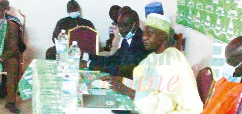Mayo-Tsanaga  : Bello Bouba Maigari galvanise ses troupes