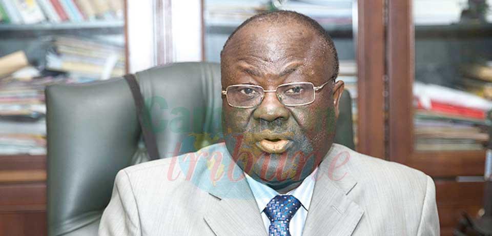 Moh Sylvester Tangongoh, directeur général du Trésor et de la Coopération financière et monétaire au ministère des Finances.