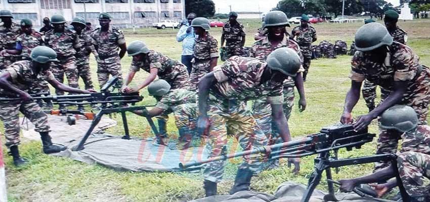 Défense : 1 000 nouvelles recrues sous le drapeau
