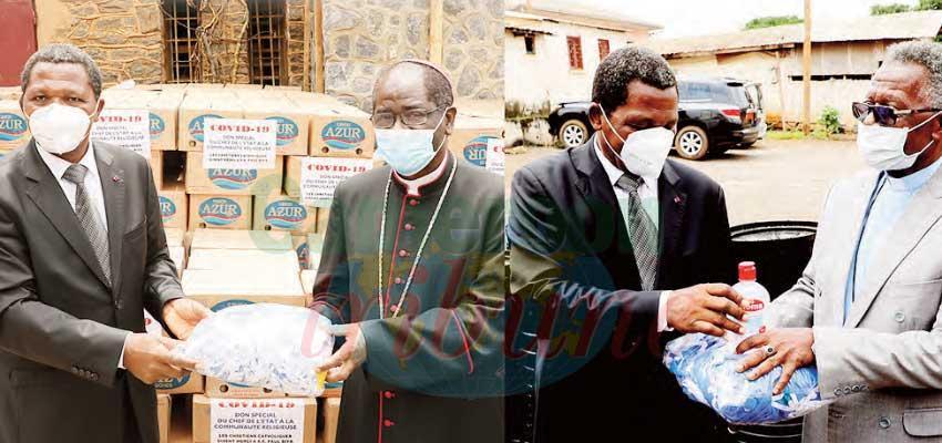 Lutte contre le coronavirus : Paul Biya soutient les communautés religieuses