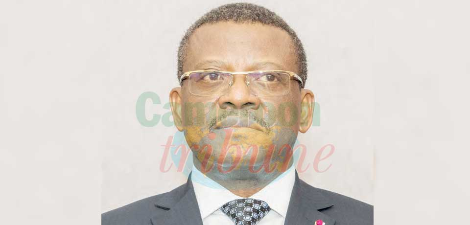 Joseph Dion Ngute a été le porte-voix du président de la République à Bangui.