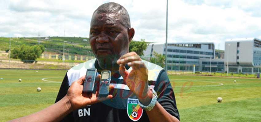 Le coach : Barthelemy Ngatsono prône le collectif