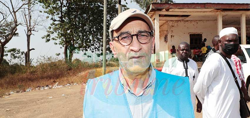 Wahid Ben Amor, chef de la sous-délégation HCR à Bertoua.