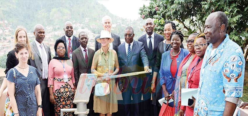 Coopération Cameroun-Etats-Unis: un forage pour les personnes handicapées