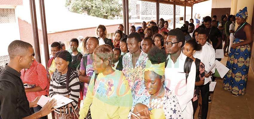 Un air de rentrée à l'Université de Yaoundé I.