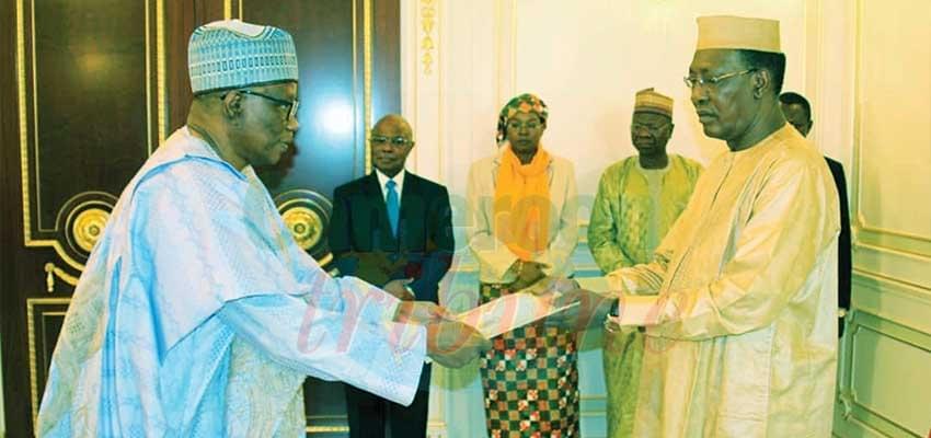 Tchad: L'ambassadeur du Cameroun en poste