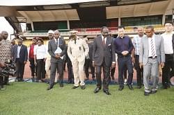 Stade de Yaoundé: le Minsep inspecte