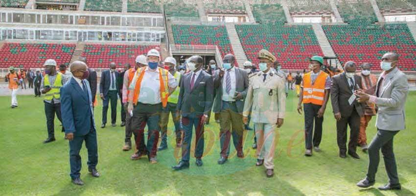 2022 AFCON Infrastructure in Yaounde : Remarkable Progress Made