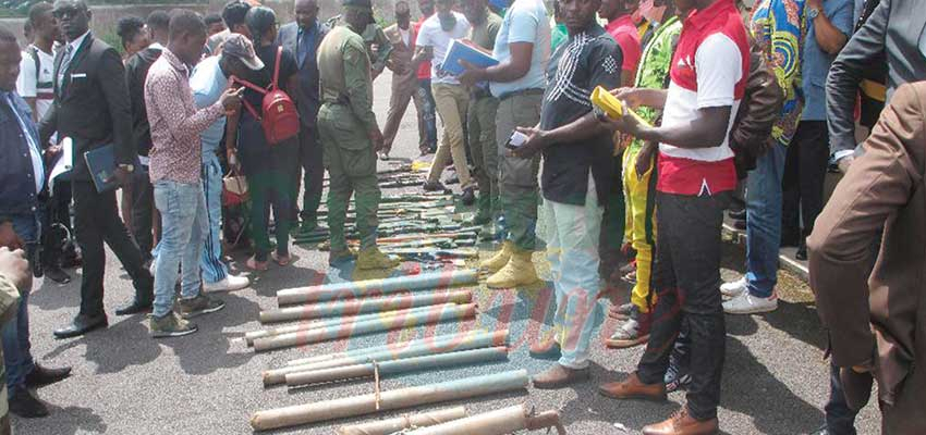 Lebialem Amba Separatists : 11 Fighters Repent, Surrender Arms