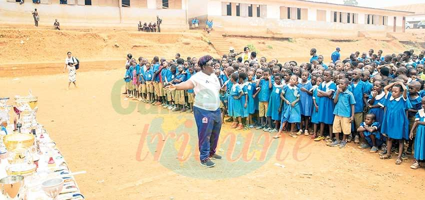 Jubilee Fomum Victorine : Sensitisation In Schools Hot Up