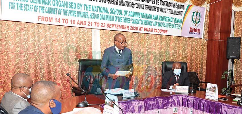 Public Administration : Officials Sharpen Skills