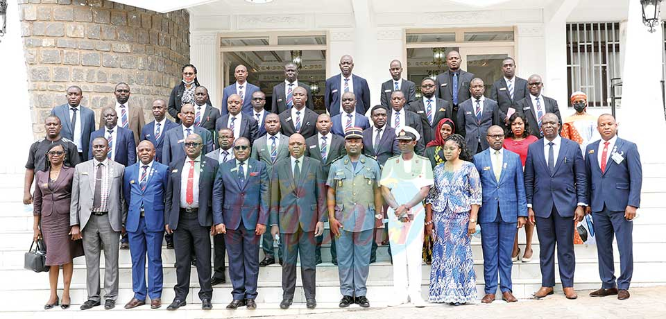 Cameroon-Nigerian Cooperation : Visiting Defence College Delegation Received