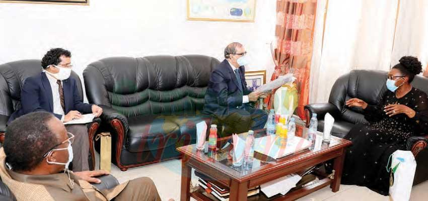 Ils nous ont rendu visite : le Haut-commissaire de l'Inde à la SOPECAM