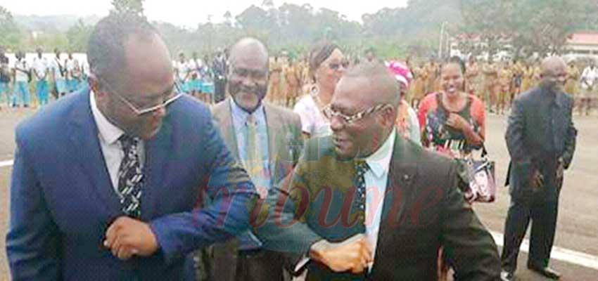 Ebolowa : on salue…des coudes