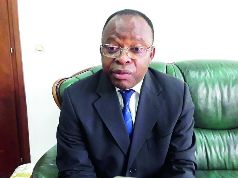 Professor Ngomo Horace Manga, Vice Chancellor of the University of Buea.