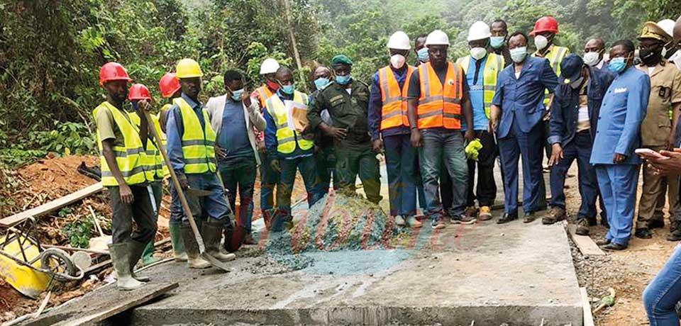Le désenclavement des arrondissements de Ngambe et Ndom en cours.