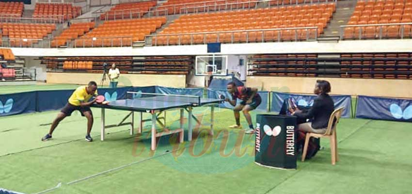 Table Tennis Open : Nyoh Dereck, Ngo Bikai Winners