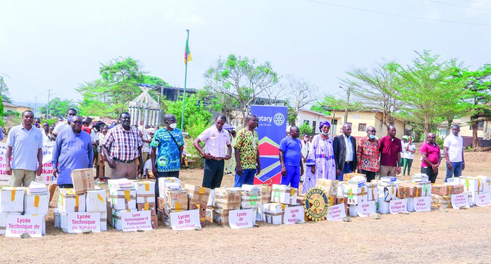 Nkam : 3000 livres pour 12 établissements