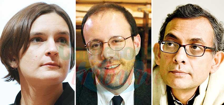 L-R: Esther Duflo, Michael Kreme, and Abhijit Banerjee, the Nobel winners.