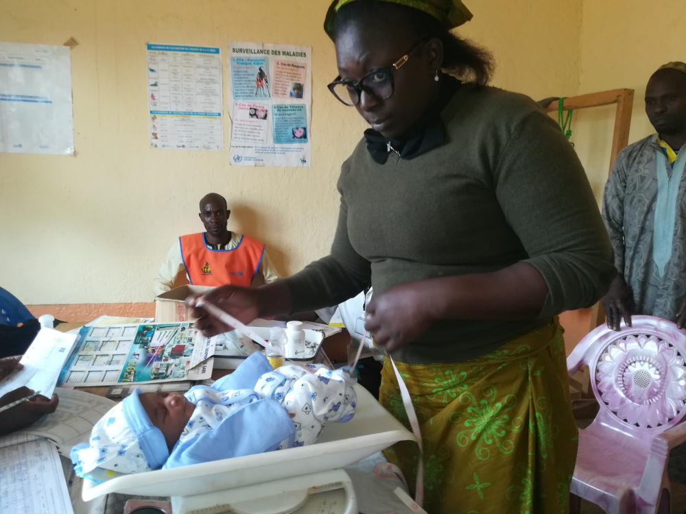 The rate of deliveries in health facilities has gone up since 2018.