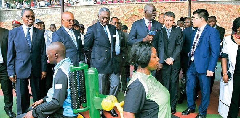 Parcours Vita de Yaoundé: Paul Biya offre de nouveaux équipements