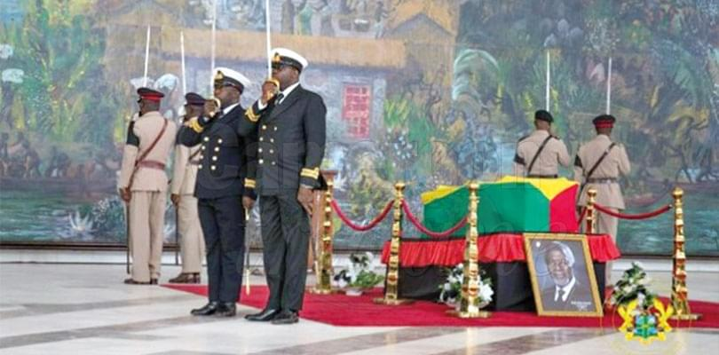 Image : Kofi Annan Obsequies: World Leaders Pay Tribute To Departed Icon