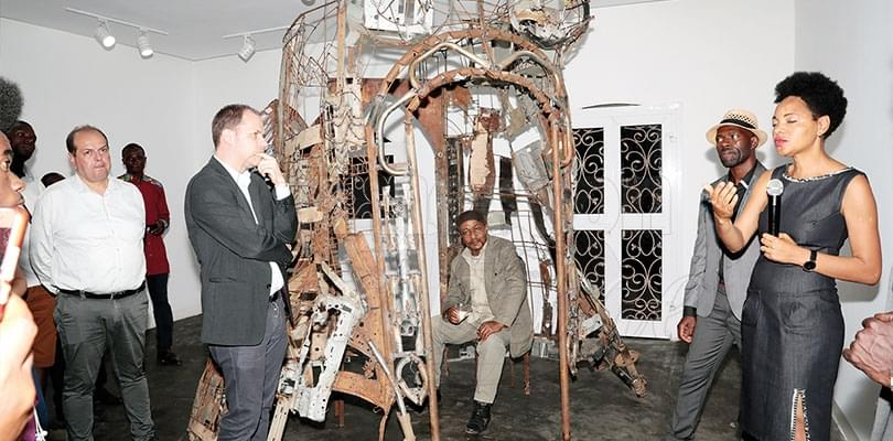 Sculpture: l'empreinte de Dieudonné Fokou