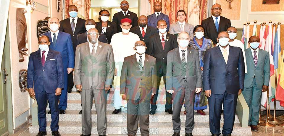 Election à l'Osta : le Cameroun reconnaissant