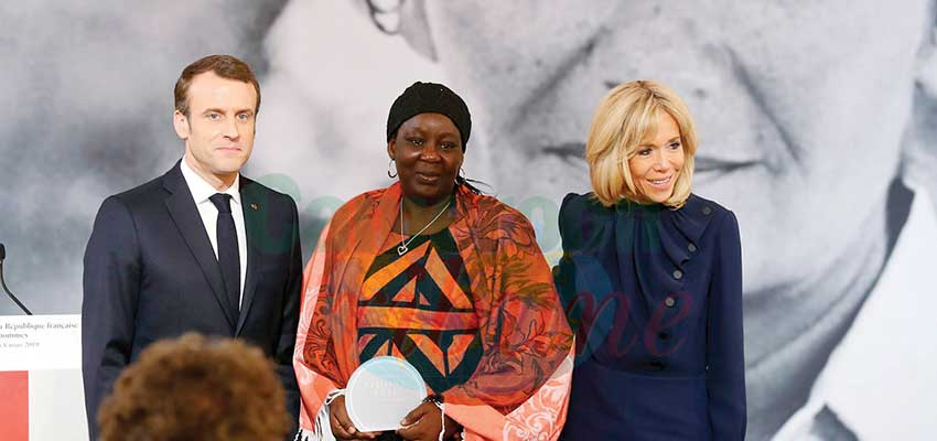 Prix Simone-Veil: une Camerounaise honorée