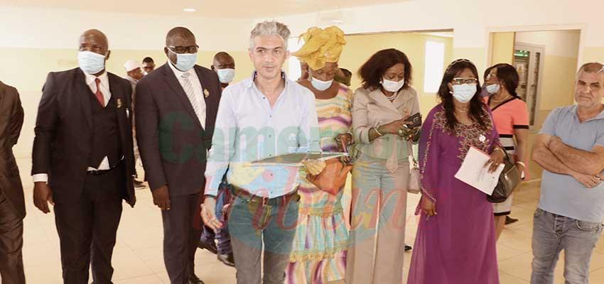 Bamenda Referral Hospital Project  : NW Parliamentary Commission Evaluates Progress
