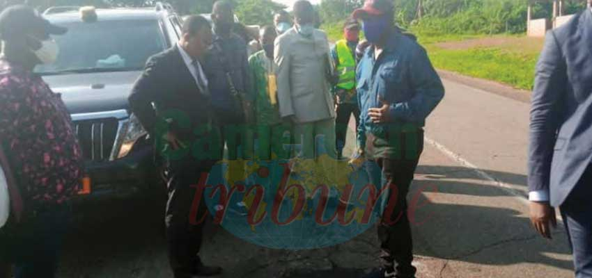 Route Mbalmayo-Sangmelim : la réhabilitation se poursuit en régie