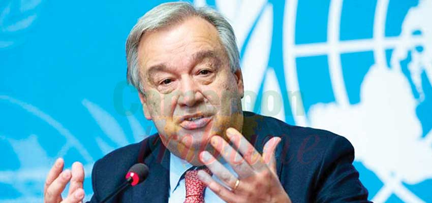 United Nations : Guterres Wants Observers In Libya