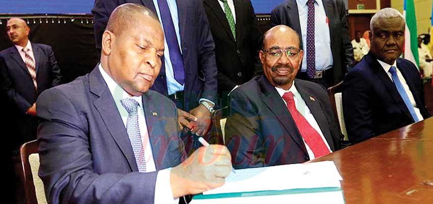 Accord de paix en RCA: l 'Union africaine à la rescousse