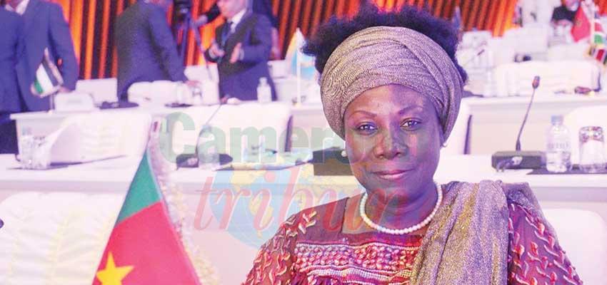 Honorable Marlyse Douala Bell, député, chef de la délégation du Cameroun à la 7e Gopac.