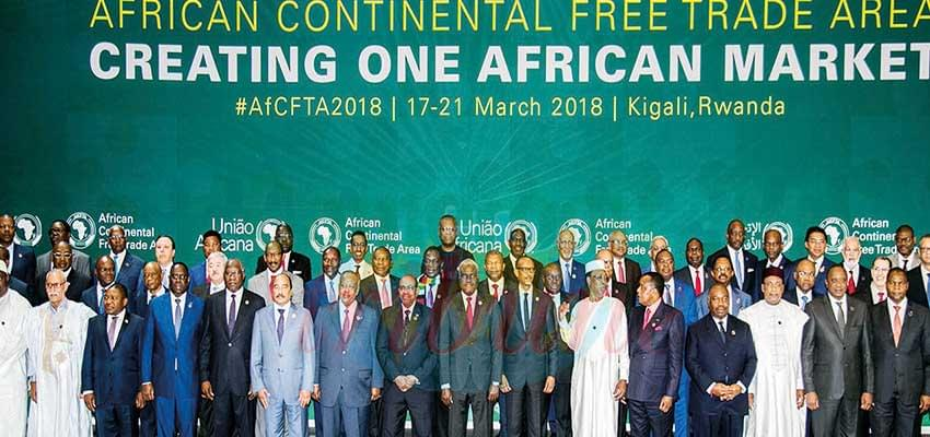 The African Continental Free Trade Area, AfCFTA, covers more than a billion people.
